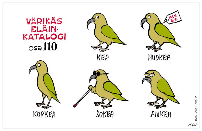Eläinlajit 110